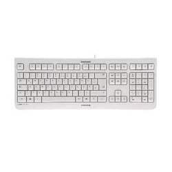 TECLADO CHERRY KC 1000 SILENCIOSO USB ULTRA SLIM BLANCO