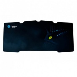 ALFOMBRILLA COOLBOX DEEP SURF L GAMING PARA MOUSE RATON Y TECLADO 850 x 300 x 4 mm.
