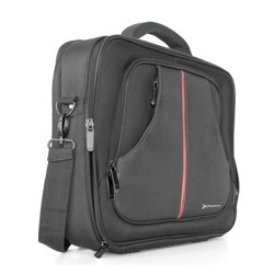 MALETIN PORTATIL NYLON PHOENIX PRAGUE  NEGRO HASTA 15.6""