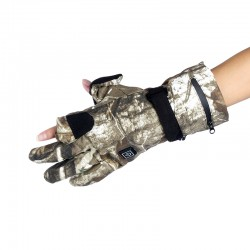 Hunting / shooter gloves, camo, mountain, fishing